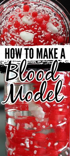 Kids will love learning about the components of blood with this fun and memorable activity - make a blood model! Stem Projects For Kids, Stem For Kids, Science For Kids, Science Ideas, Educational Activities For Kids, Teaching Activities, Teaching Tips, Fun Learning, Human Body Crafts For Kids