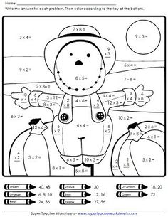 Fall Worksheets for Kindergarten. 20 Fall Worksheets for Kindergarten. Free Fall Worksheets for Kids Math Coloring Worksheets, Multiplication Worksheets, Free Kindergarten Worksheets, Addition Worksheets, Teacher Worksheets, Worksheets For Kids, Printable Worksheets, Math Activities, Halloween Worksheets