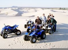 Another superb quad bike safari is on the snow white dunes of Lambert's Bay close to Cape Town