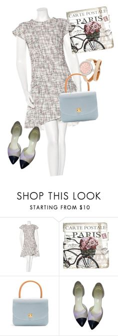 """""""dress"""" by masayuki4499 ❤ liked on Polyvore featuring Chanel, Mansur Gavriel and Shinola"""
