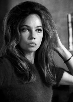 Leslie Caron, Married briefly TO Peter Hall RSC director, during my time there.