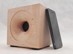 Bluetooth Speaker, iPhone Speaker, iPod Speaker, iPad Speaker, Android Speaker,Tablet Speaker, Wireless Speaker, Phone Speaker, Wood Speaker by SpeakerBlock on Etsy https://www.etsy.com/listing/210005247/bluetooth-speaker-iphone-speaker-ipod