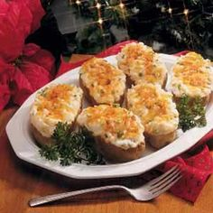 Cheesy Stuffed Baked Potatoes - The BEST baked potatoes ever!!!!  So worth the effort!  :)