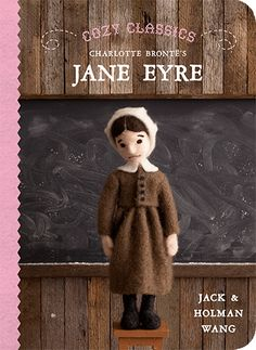 I LOVE this series from Jack & Holman Wang, published by Simply Read Books. Everything from Jane Eyre to Huckleberry Finn to Moby Dick.