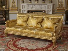Settee. Tatham & Co (furniture maker)