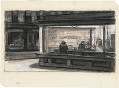 Edward Hopper - sketch