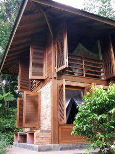 Januari | 2009 | Arsitektur rumah tinggal dan desain interior Modern Tropical House, Tropical House Design, Tiny House Design, Tropical Houses, Thai House, Filipino Architecture, Architecture Design, Old House Decorating, Humble House