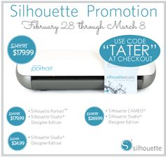 GIANT Chalkboard Calendar Wall and Silhouette Giveaway! ($250 value) -- Tatertots and Jello