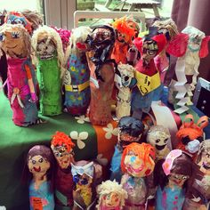 Year 2 fantastic Roald Dahl paper mâché characters from Fantastic Mr Fox to BFG-this is why I love my job!