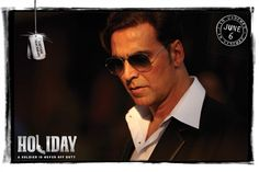 Akshay Kumar | *HOLIDAY: A Soldier is Never Off Duty* SWAG - Postcards and Posters http://www.fallinginlovewithbollywood.com/2014/06/holiday-swag-postcards-and-posters.html