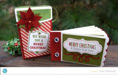 Mini Album Ornament by Traci Penrod