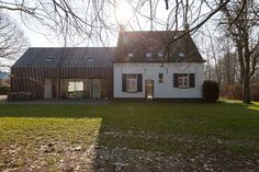 Renovation and expansion former gamekeeper house- Gent - Callebout Architecten