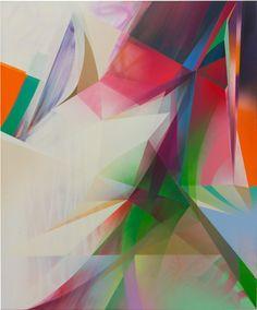 RAPHAEL BORER AND LUKAS OBERER - UNTITLED - ARTSTÜBLI  http://www.widewalls.ch/artwork/raphael-borer-and-lukas-oberer/untitled-46/ #painting