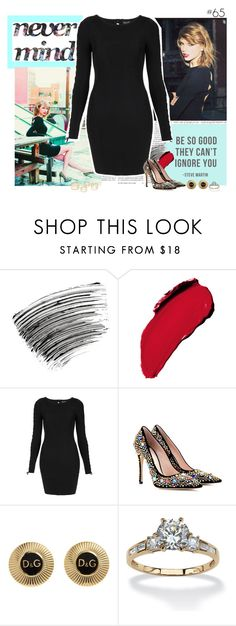"""""""#65"""" by lessalice ❤ liked on Polyvore featuring Edition, Bobbi Brown Cosmetics, L'Oréal Paris, Topshop, Miu Miu, D&G and Palm Beach Jewelry"""
