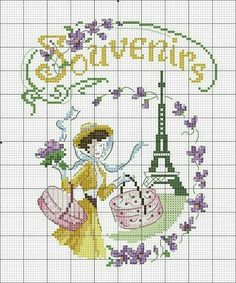 #crossstitch #kanaviçe #sarı #elbise #kız #yellow #dress #girl #lovely