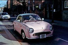 Pink Nissan Figaro Pink Cars, Pink Trucks, Pink SUVs MY DREAM CARRRR