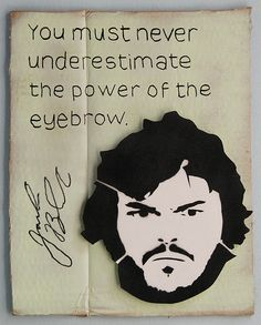 Favourite Celebrity Quote no. 611 - Jack Black by id-iom, via Flickr