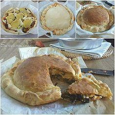 scacciata con le segale al pomodoro ricetta siciliana