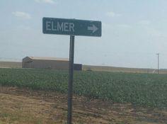 Grew up in Elmer, OK!