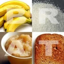 BRAT diet is consisting of bland foods that are low in fiber for help overcome diarrhea. Here are 5 steps to overcome diarrhea with the BRAT diet. Sick Toddler, Sick Kids, Sick Baby, Home Remedies For Diarrhea, Flu Remedies, Health Remedies, Brat Diet, Chemo Care, Cancer Fighting Foods
