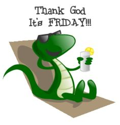 Happy Friday - enjoy the beautiful day and weekend! Mixed Emotions Quotes, Happy Friday Gif, Happy Quotes, Funny Quotes, Friday Dance, Tomorrow Is Friday, E Greetings, Sewing Humor, Friday Pictures