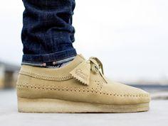 Clarks Weaver Maple Mens Work Shoes, Steel Toe Work Shoes, Desert Boots, Clarks Shoes Mens, Cheap Mens Fashion, Kicks Shoes, Clarks Originals, Leather Hats, Fresh Shoes