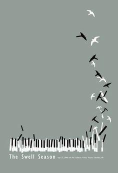 ... Piano birds