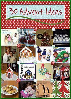 Good ideas for advent calendar and an excellent blog!