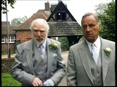 St John the Baptist Church, Aldenham, Herts, UK – As Time Goes By, Rocky's Wedding Day (1994) British Tv Comedies, British Comedy, British Actors, Bbc Tv Shows, Keeping Up Appearances, Judi Dench, As Time Goes By, Comedy Tv, John The Baptist