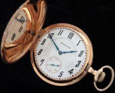 Men's 1908 Hamilton 993 Hunter Case Railroad Pocket Watch