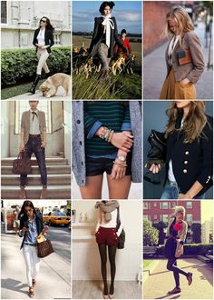 love something about the academic preppy style..