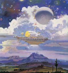 Robert Theodore McCall (1919-2010) —  Celebration (827×900)