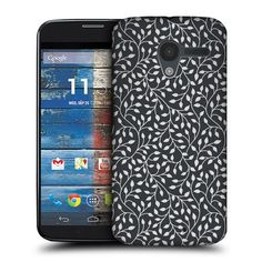 $8.20 Head Case Designs Dark Leaf Patterns Protective Snap-on Hard Back Case Cover for Motorola Moto X