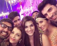 Unseen images from Bachchan's Diwali Party