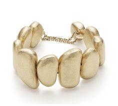 Pulseira de ouro amarelo 18K - Coleção Pedras Roladas - Modelo: P2O155791 H.Stern