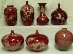 crystal glaze pottery - Google Search