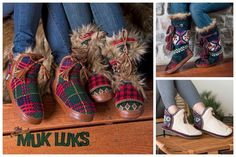 Cozy up with easy pull-on MUST-HAVE slippers from MUK LUKS! With indoor/outdoor soles, you won't have to brave cold cement and you'll be the envy of your neighbors while grabbing the paper! Stock up now for the Christmas - perfect gift for sister-in-laws, friends, daughters, or snag some just for YOU!
