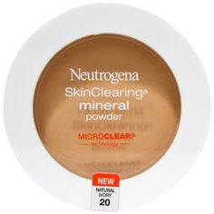 $5 discount code: HLD630 -- Neutrogena, SkinClearing Mineral Powder, Natural Ivory 20. With salicylic acid to help fight blemishes.