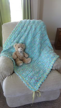 Dipity dots blanket