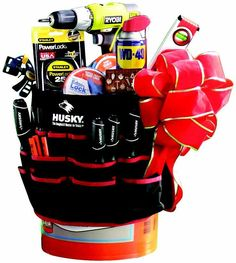Honey Do Bucket O Tools For A Man Themed Silent Auction Donation The Home Depot Grab Bag Gifts