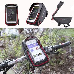 ▲Waterproof ▲Sun Visor ▲Good Tactility ▲High Quanlity Specifications: Product name: Bike Bag Brand: Wheelup Type: Handlebar Bag Position: Front. Cycling Tops, Buy Cryptocurrency, Mobile Storage, Bike Bag, Car Audio, St Kitts And Nevis, Bag Storage, Touch, Bags