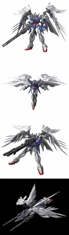 HIRM 1/100 Wing Gundam ZERO CG