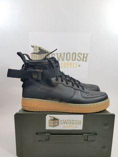 Nike Shoes | Nike Sf Af1 Air Force 1 Black Gum Bottoms