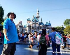 California Man Has Been Going to Disneyland Every Day for the Last 2,000 Days - http://www.odditycentral.com/news/california-man-has-been-going-to-disneyland-every-day-for-the-last-2000-days.html