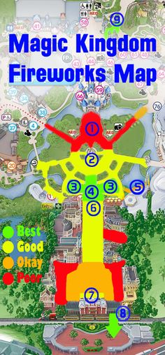 Best Magic Kingdom Fireworks Spots (FastPass+, New Fantasyland, and more!)