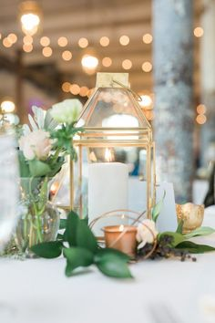 candle cage wedding