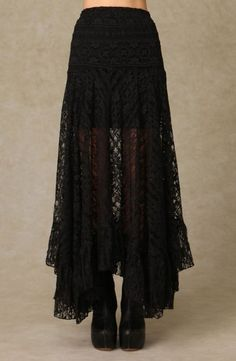 Strega's Forest....would be a lovely belly dance skirt, with a hip scarf/belt added