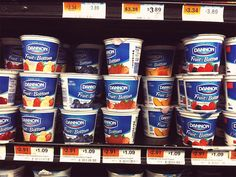 Dannon Promises to Reduce Sugar...to Levels *Above* Current Offering