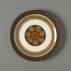 'Mirage', made by Casual Ceram, Japan, - Powerhouse Museum Collection Plate Design, Side Plates, Museum Collection, Mikasa, Dinnerware, Stoneware, Decorative Plates, Mid Century, Japanese