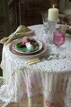 Lovely Easter Table Setting